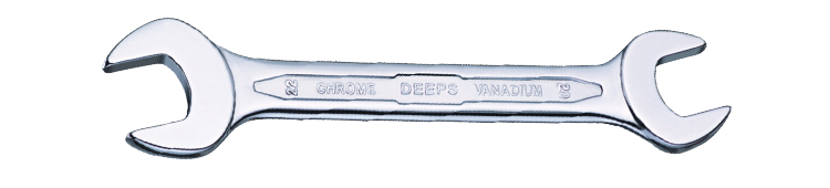 Double Open End Wrenches Recess Panel Cold coined